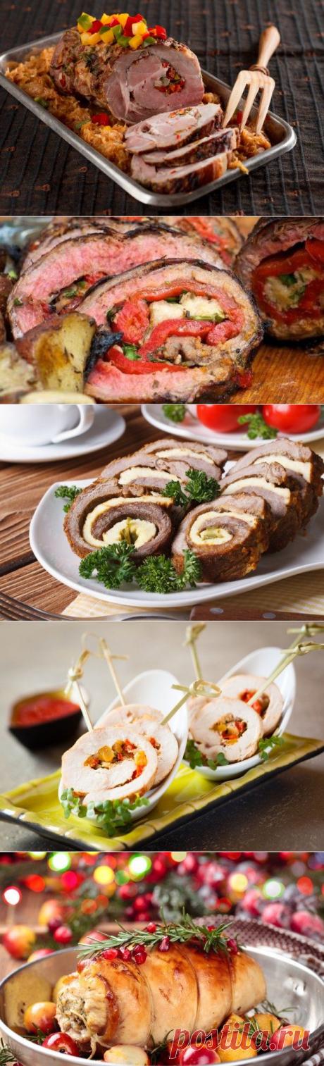 5 лучших рецептов мясного рулета