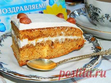 Медовый торт без сахара