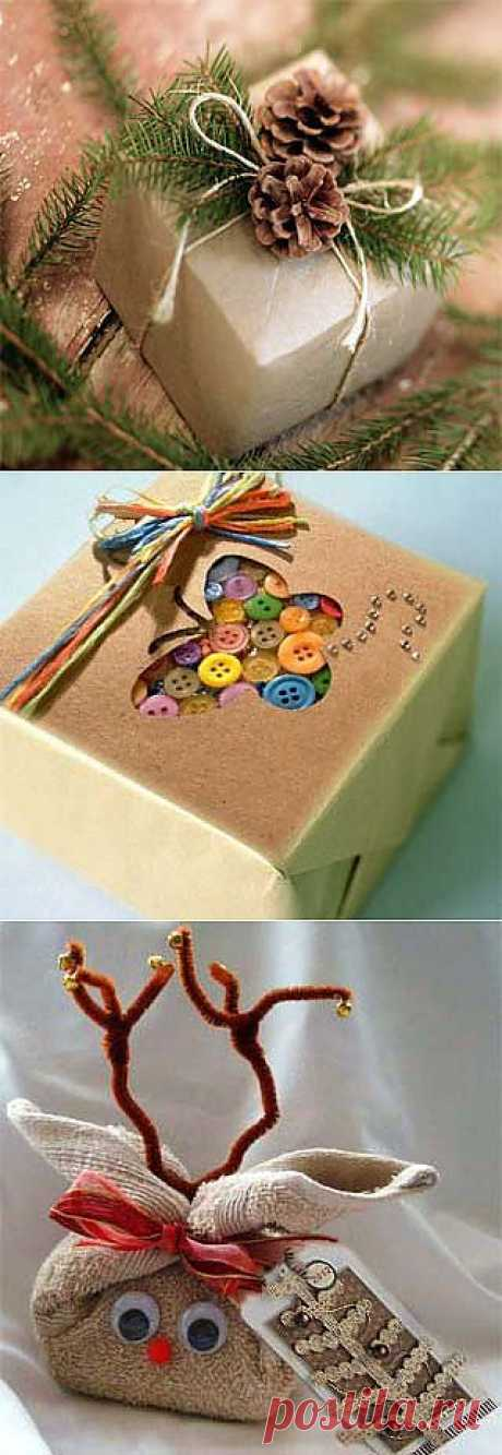 As it is beautiful to pack a gift: 15 brilliant ideas