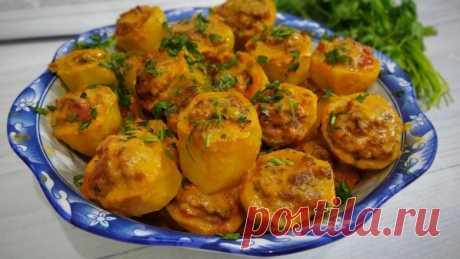 Картошка в духовке на обед и ужин