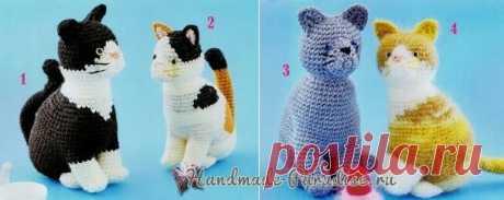 Схемы вязания крючком котенка Схемы вязания крючком котенка. Не хотите связать котенка, уважаемые рукодельницы, любительницы создавать игрушки ручной работы? Связать кошку несложно,