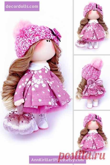 Fabric Interior Doll Tilda Doll Handmade Muñecas Baby Doll | Etsy