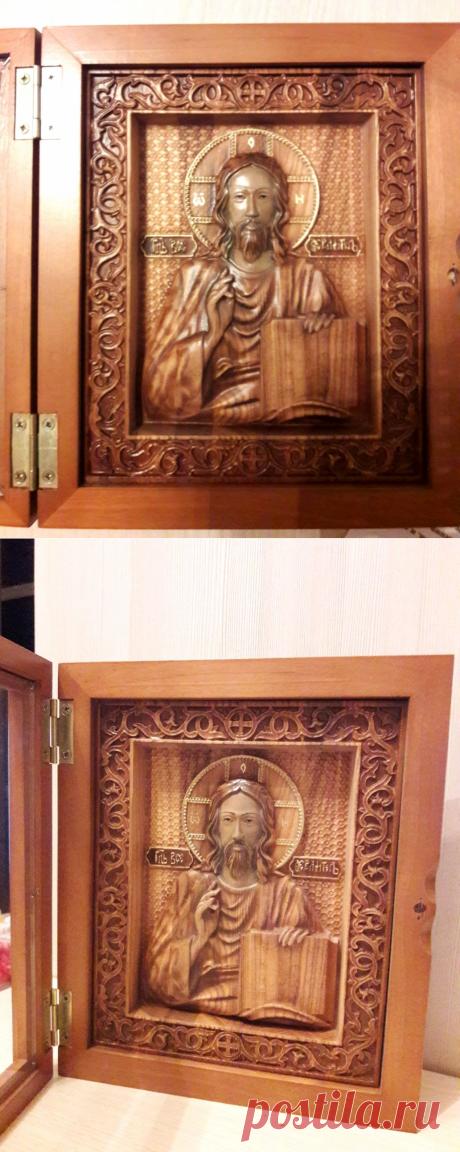 Икона Иисуса Христа – купить в интернет-магазине на Ярмарке Мастеров с доставкой
