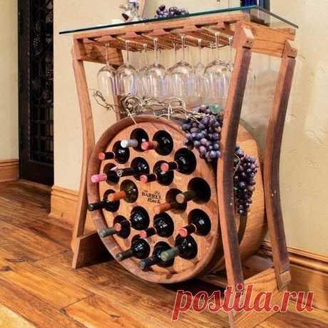 Столик-подставка для вина