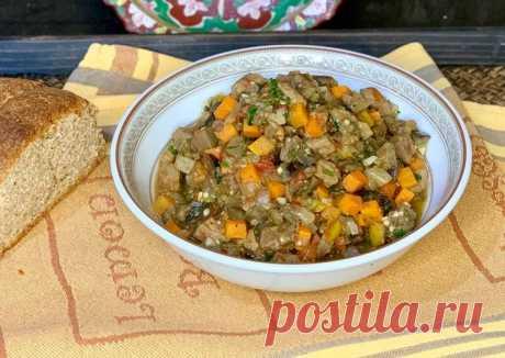 (3) Овощное рагу с баклажанами и говядиной - пошаговый рецепт с фото. Автор рецепта zlari . - Cookpad