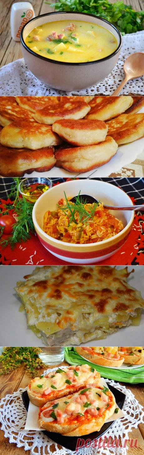 5 быстрых и сытных блюд на ужин