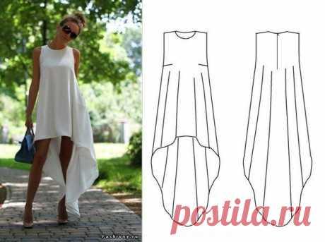 Шьем летнее платье — DIYIdeas
