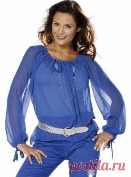 Блузка с рукавом реглан за вечер.... | модница | Яндекс Дзен