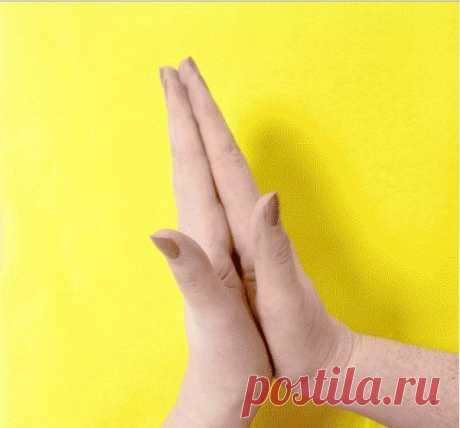 Если подержать себя за палец 20 секунд, можно добиться поразительного результата!