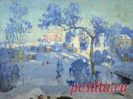 ЗИМУШКА-ЗИМА В КАРТИНАХ РУССКИХ ХУДОЖНИКОВ: Художественная галерея работ русских художников на тему зимы.