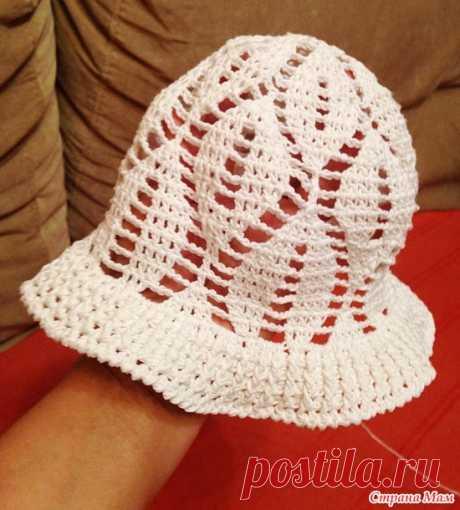 Детская шляпка крючком - Вязание - Страна Мам