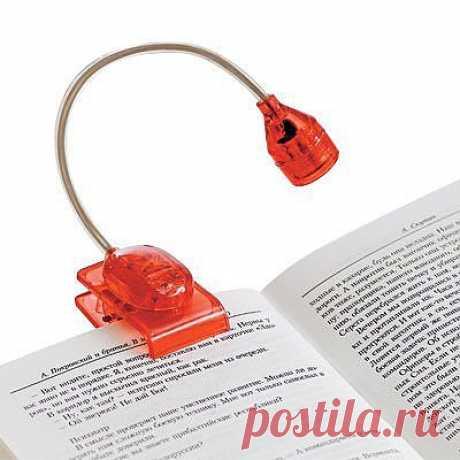 Светильник-прищепка на книгу - 299 руб