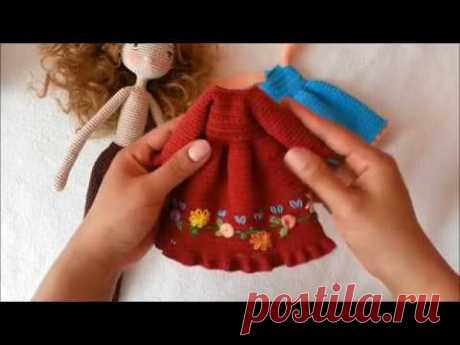 Doll dress /  doll outfit crochet