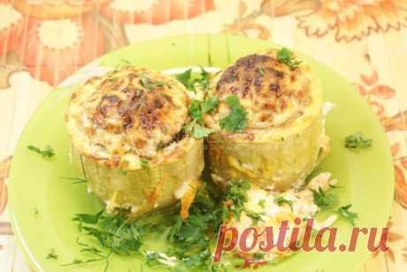 Фаршированные кабачки – Рецепт с фото. Рецепты. Вторые блюда. Блюда из овощей