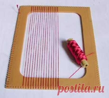 Станки для ткачества своими руками