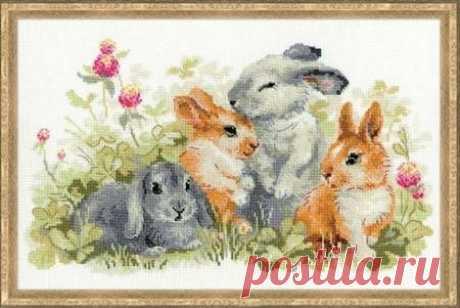 Забавные крольчата.