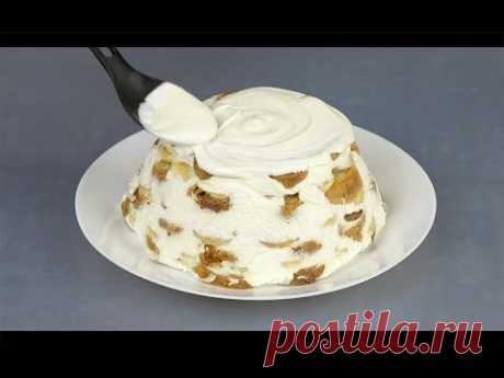 5 самых вкусных тортов БЕЗ ВЫПЕЧКИ и без желатина!
