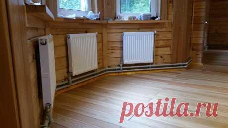 Как в деревенских домах делали тёплые полы не используя мембраны и стекловату