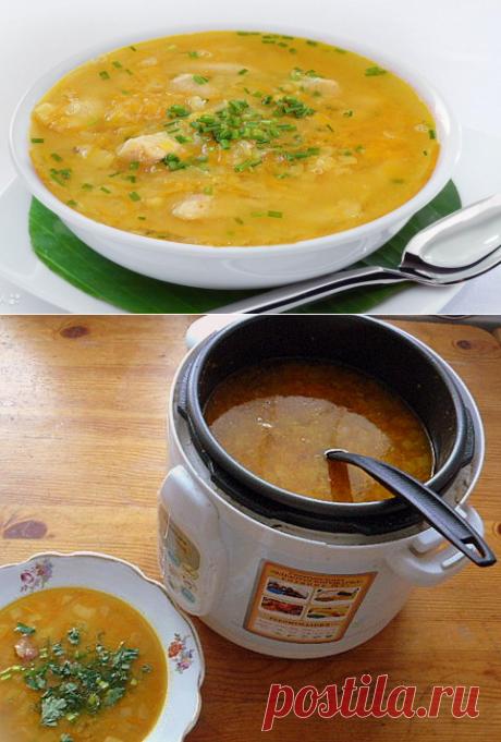 Гороховый суп-пюре в мультиварке - My izumrud