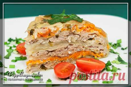 Капустная запеканка с мясом | Домашние рецепты