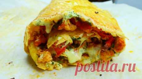 Рулет мясо по французски с картофелем и помидорами — Кулинарная книга - рецепты с фото