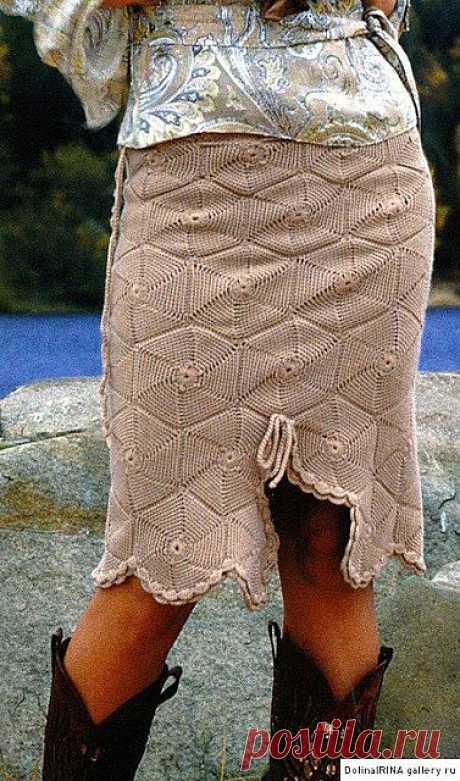 3 часть. Вяжем крючком стильные юбки..