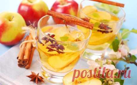 Рождественский глинтвейн с белым вином и апельсинами