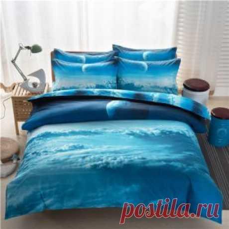 Космический комплект постельного белья   Алиэкспресс на русском. Обзоры товаров и отзывы. Хороший Алиэкспресс.