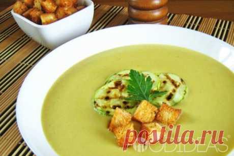 Суп-пюре из кабачков: рецепты быстро и вкусно с фото - рецепт приготовления с фото
