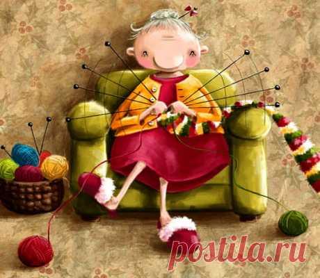 Мир волшебного руко-делия. Термины для вязания, которые вам пригодятся!