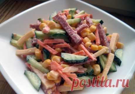 Готовим вкусные и простые салаты: рецепты, фото и видео пошагового приготовления