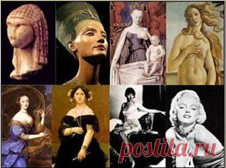 Идеал женской красоты. Интересные исторические факты.