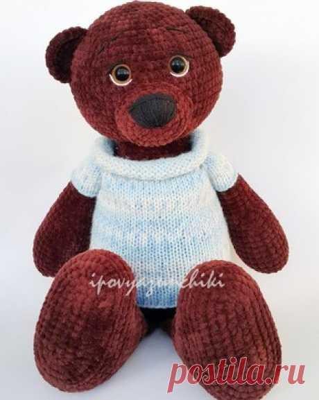 PDF Мишутка. Бесплатный мастер-класс, схема и описание для вязания плюшевой игрушки амигуруми крючком. Вяжем игрушки своими руками! FREE amigurumi pattern. #амигуруми #amigurumi #схема #описание #мк #pattern #вязание #crochet #knitting #toy #handmade #поделки #pdf #рукоделие #мишка #медвежонок #медведь #bear #teddy #teddybear #plush #плюшевый