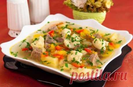 Суп с клецками (галушками): пошаговый рецепт с фото