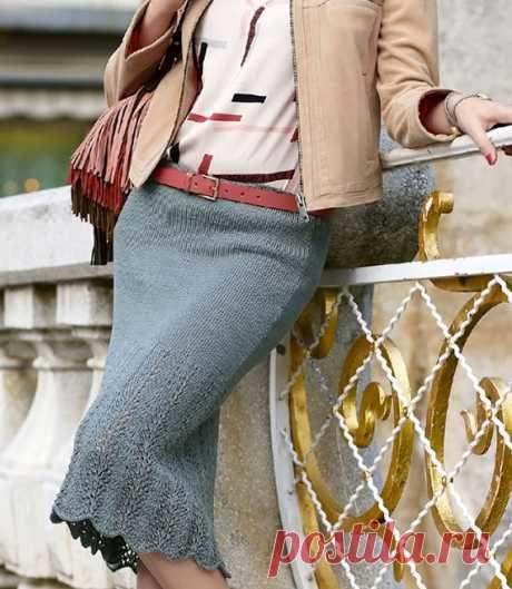 Как связать юбку годе для женщин спицами – 5 моделей с описанием и схемами