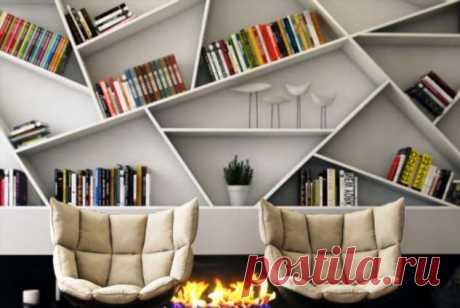Креативные стеллажи для кабинета и офиса | Люблю Себя