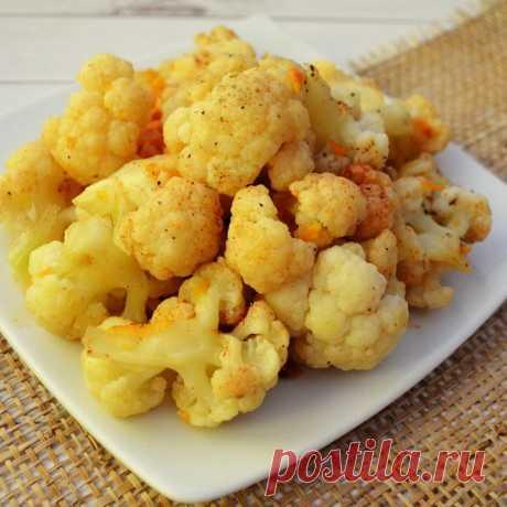 Тушеная цветная капуста - пошаговый рецепт с фото, ингредиенты, как приготовить - Hi-chef.ru