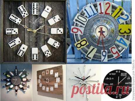 Изюминка дачного интерьера – оригинальные часы - Сам себе мастер - медиаплатформа МирТесен