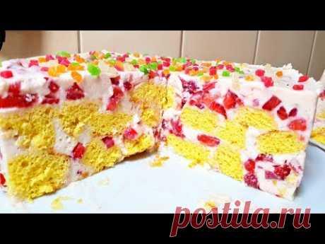ЧУДО-ТОРТ за 30 МИНУТ, Все Просят Добавки! Торт на Скорую Руку