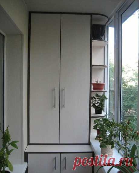 Шкафчик на балконе