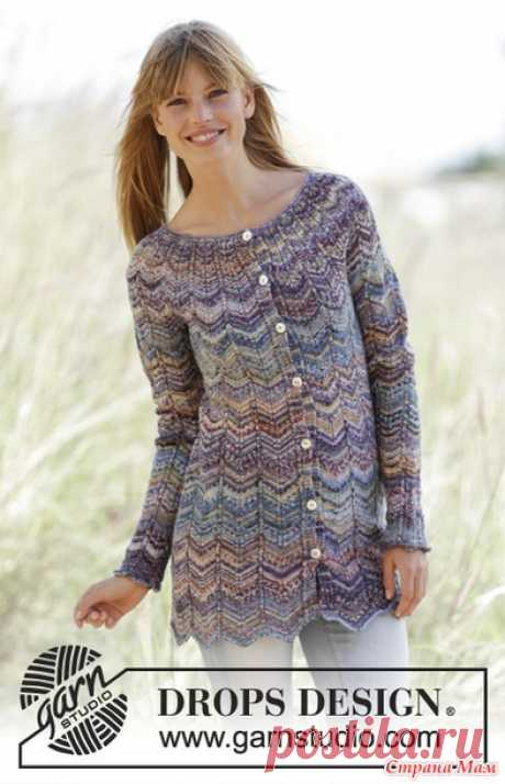 At Sundown cardigan. Spokes. - KNITTED FASHION + FOR NOT MODEL LADIES - the Country of Mothers