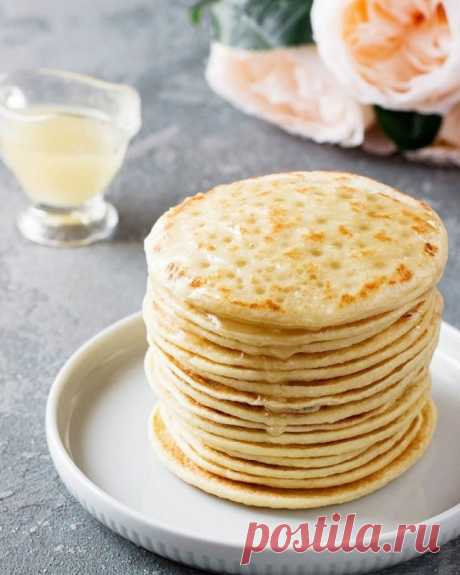 Блинчики «Багрир» — Sloosh – кулинарные рецепты