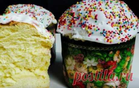 Пасхальный кулич. 7 самых простых и вкусных рецептов приготовления