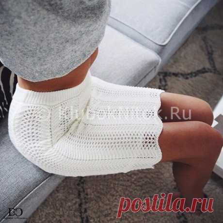 Белая стильная юбочка. Схема.