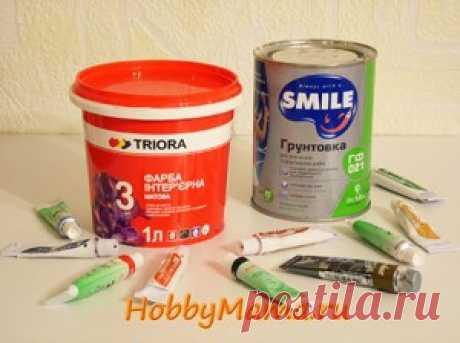 Какие материалы нужны для декупажа | HobbyMama