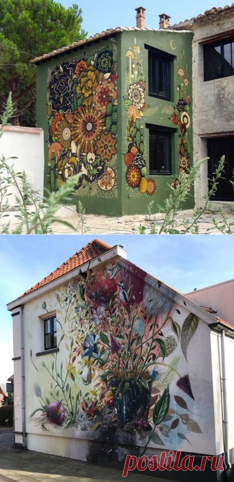 Роспись фасадов « Каталог « Мастерская живописи Сasa d'arte