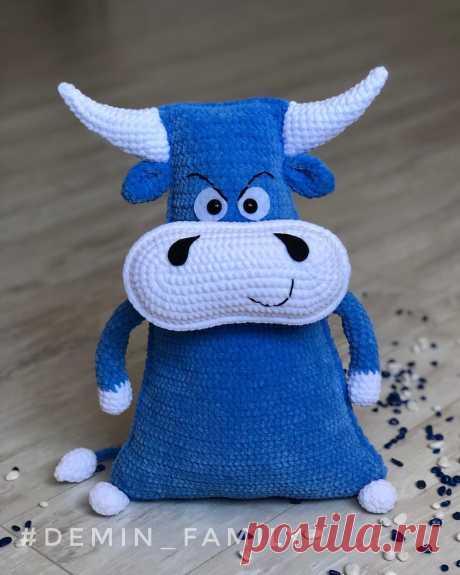 PDF Мастер-класс по вязанию крючком бычка игрушки-подушки #схемыамигуруми #амигуруми #вязаныеигрушки #вязаныйбык #быккрючком #подушкакрючком #amigurumipattern #amigurumi #crochetbull #crochetpattern #crochettoy #amigurumitoy #amigurumibull