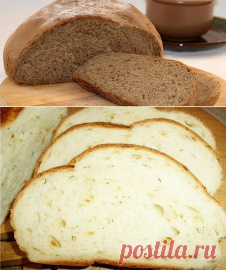 Хлеб в духовке - Рецепты хлеба в духовке - Как правильно готовить