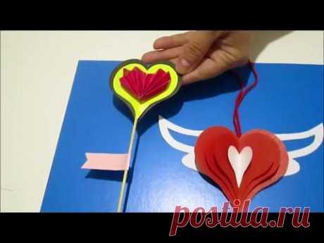 DIY/ Валентинка своими руками. Что подарить парню на 14 февраля.
