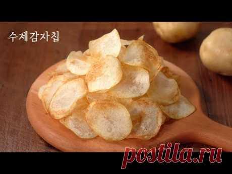 Изготовление картофельных чипсов | Как сделать картофельные чипсы легко | Легко готовить